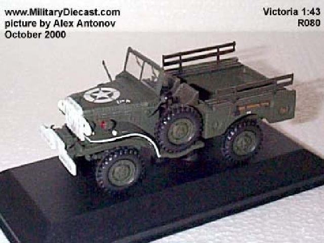 DODGE WC52 OPEN US MILITARY POLICE 1945