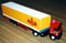 MAZ Super Tractor with Cargo Trailer Covered