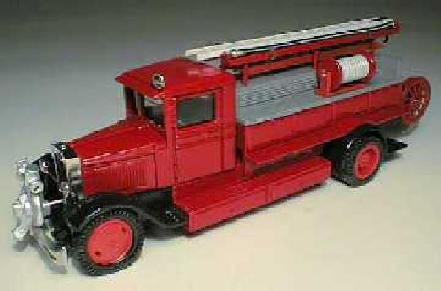 PMZ-6 Fire-Engine with Pump on Front Bumper